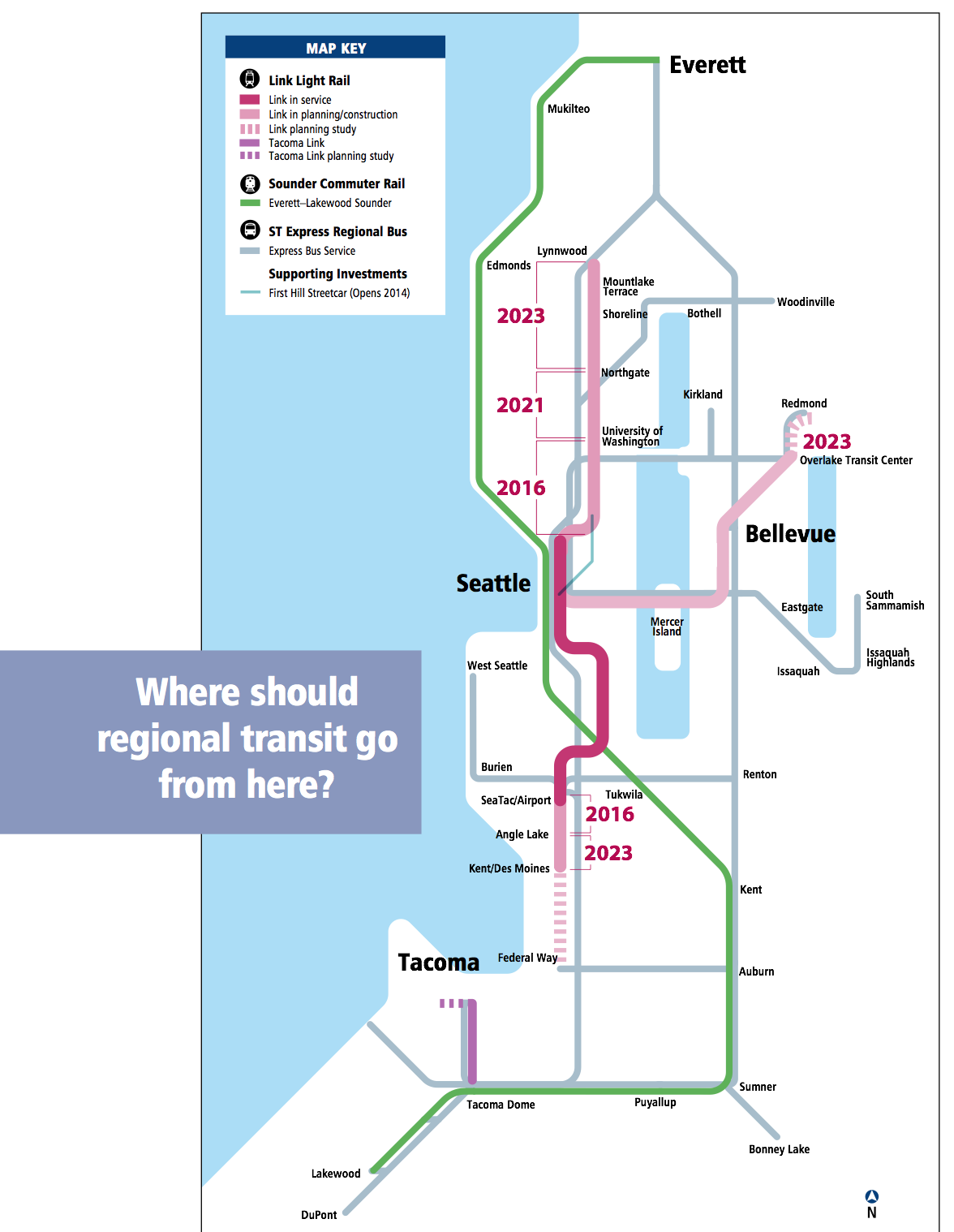 How Does Sound Transit Expand  The Urbanist