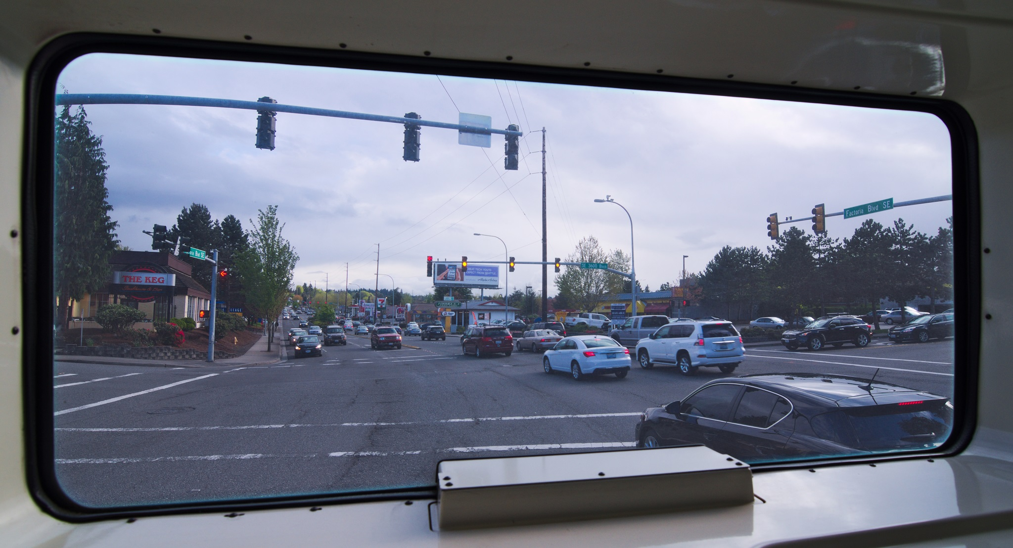 Factoria Boulevard. How Lovely. Yet that's one of Bellevue's main transit destinations.
