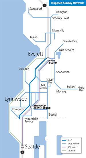 Community Transit Sunday Network