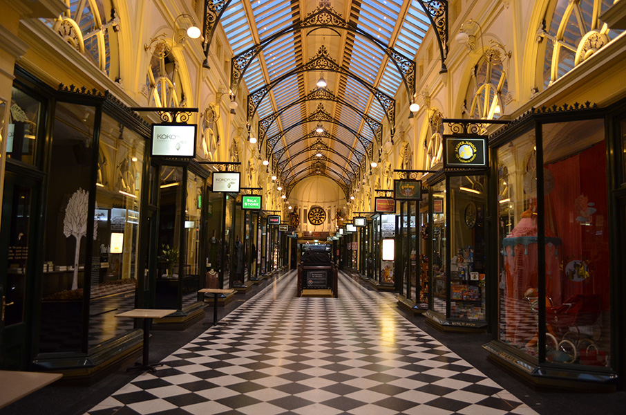 Royal Arcade by Matthew Oberklaid